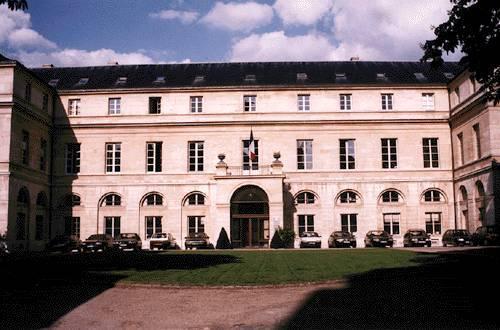 Le pavillon Boncourt, vu de face