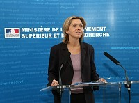 V. Pécresse - Conf Presse 'Réussir en licence'