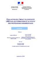 Rapport LMD