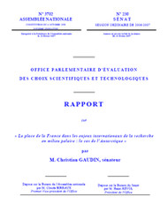 Rapport Gaudin