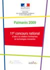 171 lauréats récompensés pour la 11e édition du Concours national d'aide à la création d'entreprises de technologies innovantes
