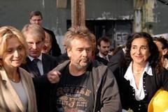 Valérie Pécresse, Luc Besson, Francine Lévy