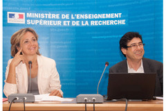 Valérie Pécresse et Philippe Aghion