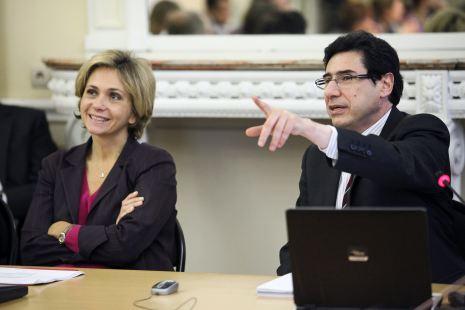 Valérie Pécresse et Philippe Aghion - Photo : P. Devernay