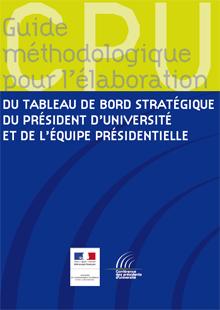 Télécharger le guide méthodologique du tableau de bord stratégique