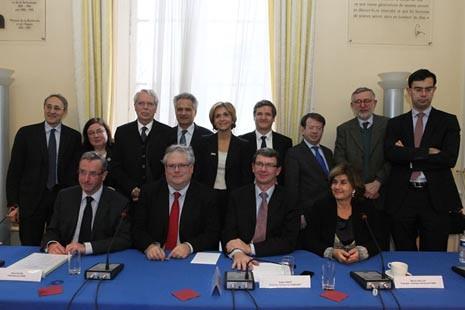 """Création de l'Alliance """"AllEnvi"""" - Photo : MESR/P.Devernay"""