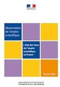L'état des lieux de l'emploi scientifique en France, édition 2009