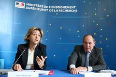 Valérie Pécress et René Ricol © P. Devernay/MESR