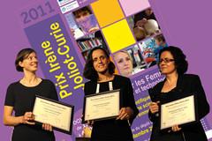 Lauréates du prix I.J.C 2011
