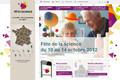 Ouverture du nouveau site internet de la Fête de la science
