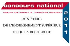 Logo 2011 concours création entreprises de technologies innovantes