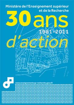 30 ans d'action au ministère