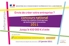 Informations concours 2011