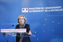 Geneviève Fioraso : conférence de presse rentrée universitaire 2012-2013
