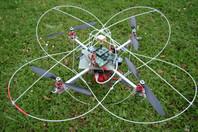 Drone de type quadrirotor