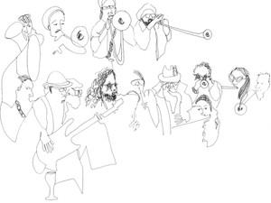 The Bling Bling Brass Band, fanfare éclectique et électrique