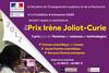 Prix Irène Joliot-Curie : lancement de l'édition 2012
