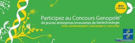 Bannière : concours de jeunes entreprises innovantes de biotechnologies