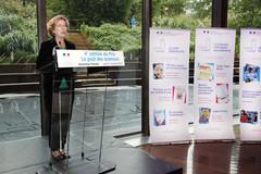 Geneviève Fioraso - Remise des prix Le goût des sciences 2012