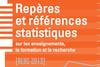 Repères et références statistiques sur les enseignements, la formation et la recherche - 2013