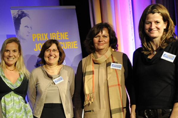 Quatre lauréates