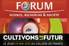 Message de G.Fioraso pour la 5e édition du Forum Science, Recherche et Société