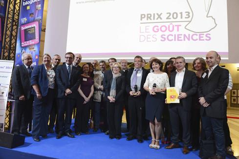 Remise du prix Le goût des sciences 2013