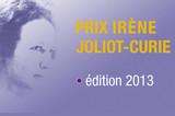Prix Irène Joliot Curie 2013