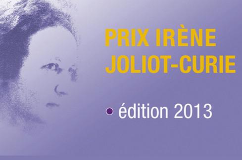 Prix Irène Joliot-Curie : lancement de l'édition 2013