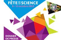 Dossier de presse : Fête de la Science 2013