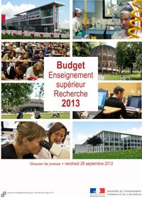 Dossier de presse budget 2013