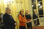 Vœux de Geneviève Fioraso au Groupe parlementaire Espace