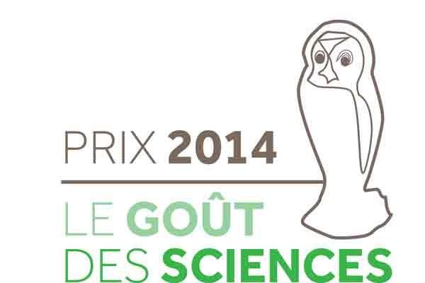 Prix Goût des Sciences 2014