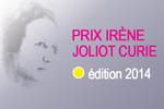 Prix Irène Joliot-Curie : lancement de l'édition 2014