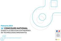 Vignette Palmarès 2014 : Concours national d'aide à la création d'entreprises de technologies innovantes