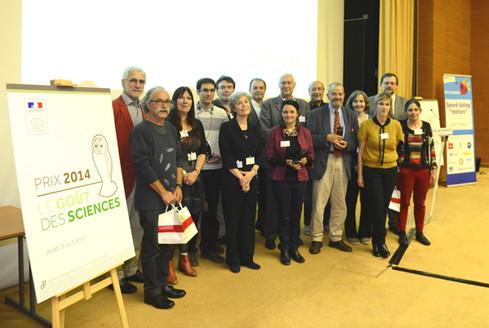 Remise du prix Le Goût des sciences 2014