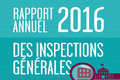 Rapport annuel 2016 des inspections générales (IGEN-I.G.A.E.N.R.)