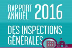 Rapport annuel 2016 des Inspections générales