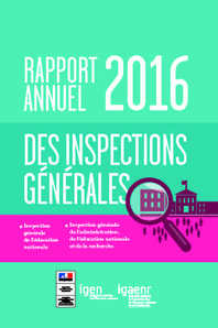 Rapport annuel 2016 IGEN-I.G.A.E.N.R.