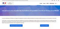 Data ESR.gouv.fr : parcours et réussite des bacheliers inscrits en licence et en PACES