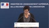Discours de Frédérique Vidal à la conférence de presse de rentrée étudiante 2017