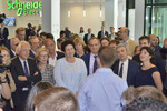 Inauguration du technopôle de Schneider Electric
