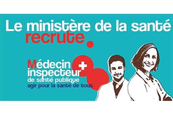Recrutement de médecins inpecteur de santé publiqu