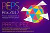 """Prix PEPS """"Passion Enseignement et Pédagogie dans le Supérieur"""" 2017"""
