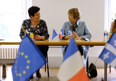 Rencontre de Frédérique Vidal avec son homologue québecois Hélène David