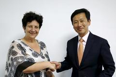 Entretien avec le ministre singapourien