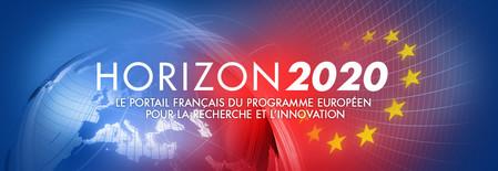 Bannière Horizon 2020