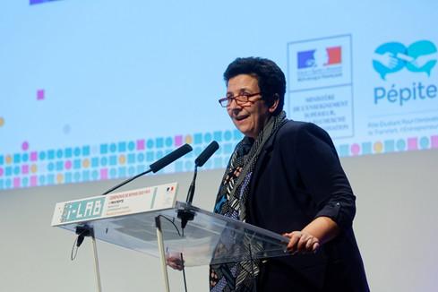 Discours de Frédérique Vidal à l'occasion de la 4e édition du prix PEPITE