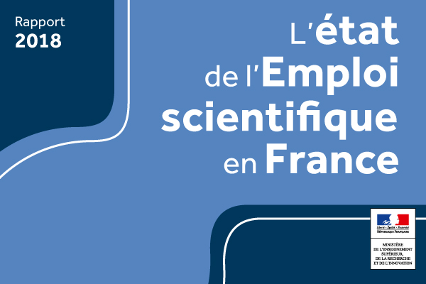 L Etat De L Emploi Scientifique En France Edition 2018 Ministere