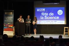 Frédérique Vidal présente la Fête de la science 2018